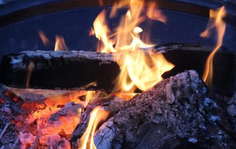 Senior Round Up Bonfire