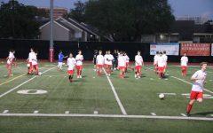 JV soccer vs. Lutheran South