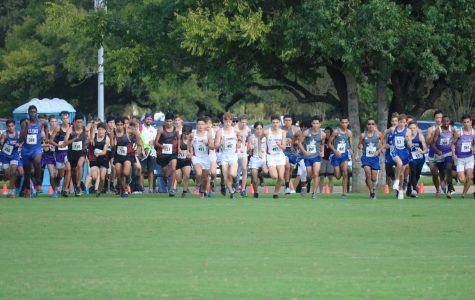 HBU Cross Country Meet