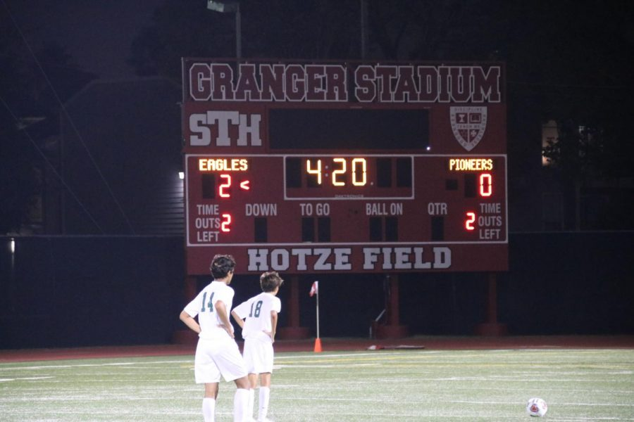 The JV team takes their first win of the season, 2-0, at home in their home opener.