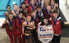 Eagle Swimming wins first state title in school history