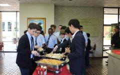 The students and the ambassadors then get to enjoy a lunch together.