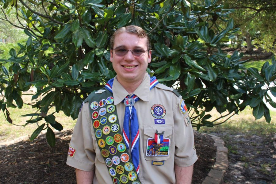 Nicholas Kurzy '20 achieves rank of Eagle Scout